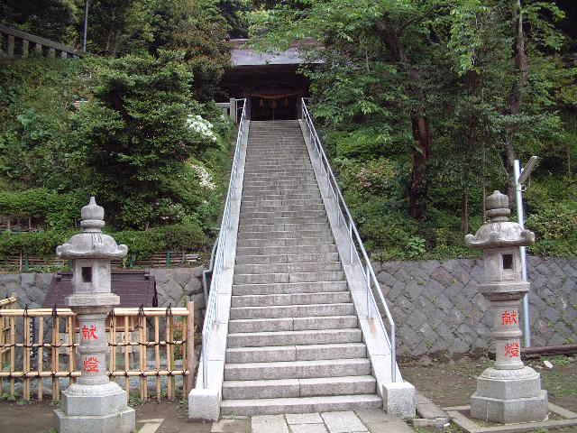 鎌倉史跡ー甘縄神社